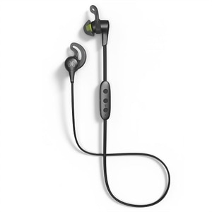 Jaybird X4 - Earphones with mic - in-ear - Bluetooth - wireless - flash, black metallic