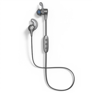 Jaybird X4 - Earphones with mic - in-ear - Bluetooth - wireless - glacier, storm metallic