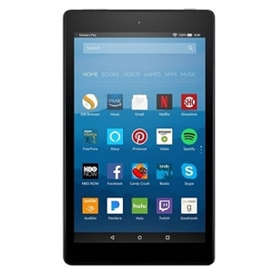 "Amazon Fire HD 8 Tablet Fire OS 5 16 GB - 8"" IPS (1280 x 800) - Black"