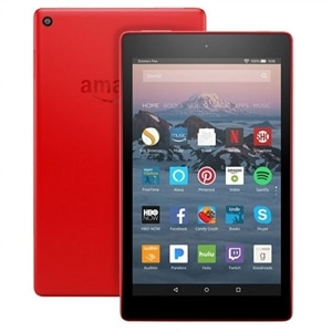 "Amazon Fire HD 8 Tablet Fire OS 5 (Bellini) 32 GB 8"" IPS (1280 x 800) - Punch Red"