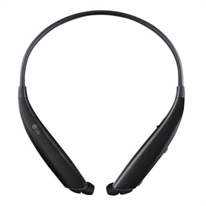 LG TONE Ultra a HBS-830 - Earphones with mic - in-ear - neckband - Bluetooth - wireless - Black