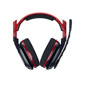 Astro A40 TR - X-Edition - headset - full size - wired - 3.5 mm jack - navy, crimson