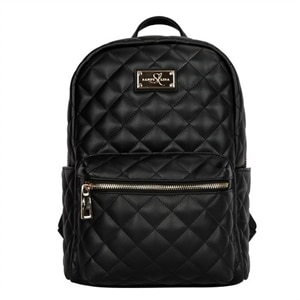 Sandy Lisa St. Tropez - Laptop carrying backpack - 15.6-inch - black