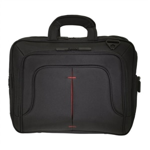 "ECO STYLE Tech Pro TopLoad - Notebook carrying case - 16.1"" - Black, Red"
