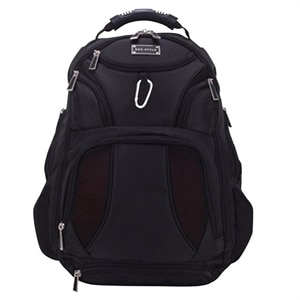 "Jet Set Smart Backpack Checkpoint Friendly 17"" - Black"