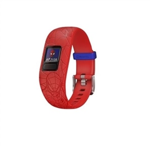 Garmin vívofit jr 2 - Marvel Spider-Man - activity tracker with band - silicone - red - band size 5.12 in - 6.89 in - Bluetooth - 0.85 oz
