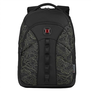 "Wenger Sun - Notebook carrying backpack - 16"" - black, fern topo"