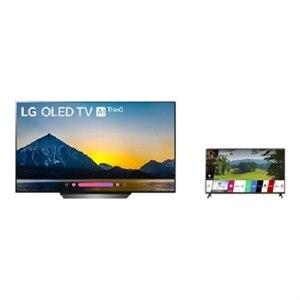 LG OLED65B8PUA 65-inch Smart 4K TV + LG 49 Inch TV