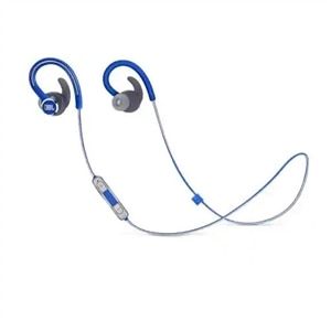 JBL Reflect Contour 2 - Earphones with mic - in-ear - over-the-ear mount - Bluetooth - wireless - blue