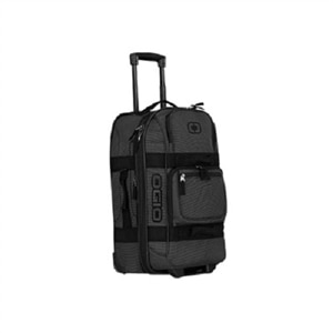 OGIO Layover Travel Bag - Upright - black pindot