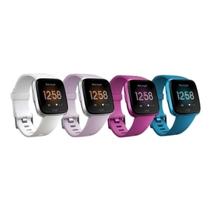 Fitbit Versa Lite Edition - marina blue - smart watch with band - marina blue
