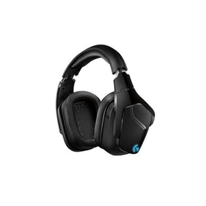 Logitech Gaming Headset G935 - Headset - 7.1 channel - full size - 2.4 GHz - wireless - 3.5 mm jack - black, blue