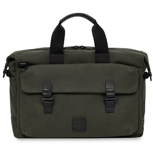 "Knomo TOURNAY Notebook Carrying Case 15"" - Dark Green"