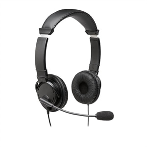 Kensington Hi-Fi Headphones with Mic - Headset - on-ear - wired - 3.5 mm jack - black