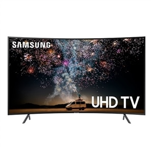 Samsung 65 Inch Curved LED 4K UHD Smart TV - UN65RU7300F
