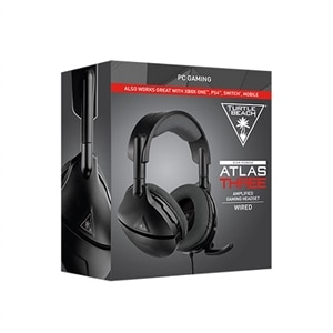 Turtle Beach Atlas Three - Headset - full size - wired - 3.5 mm jack