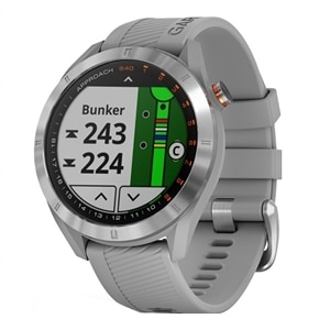 Garmin - Approach S40 GPS Watch - Powder Gray