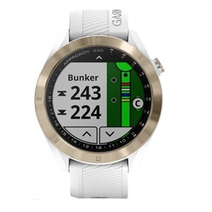Garmin Approach S40 - GPS watch - cycle, golf, running 1.2-inch - band size 106-176 mm