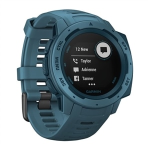Garmin Instinct - lakeside blue - smart watch with band - lakeside blue