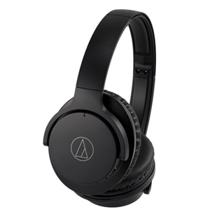 Audio Technica QuietPoint® Wireless Active Noise-Cancelling Headphones - Black