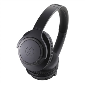 Audio-Technica ATH SR30BT - Headphones With Mic - Bluetooth - Wireless - Charcoal Gray