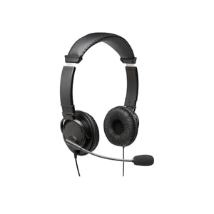 Kensington USB Hi-Fi Headphones with Mic - Headset - on-ear - wired - Black