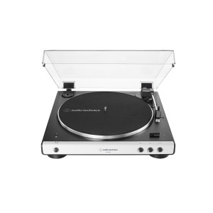 Audio-Technica Wireless Belt-Drive Turntable - Bluetooth - Black/White