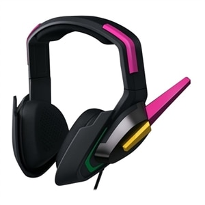 Razer D.Va MEKA - Headphones with mic - full size - wired - 3.5 mm jack