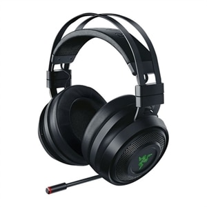 Razer Nari - Headset - full size - 2.4 GHz - wireless - noise isolating - black