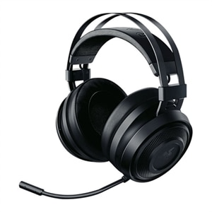 Razer Nari Essential - Headset - full size - 2.4 GHz - wireless - noise isolating - black