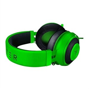 Razer Kraken - Headset - full size - wired - 3.5 mm jack - noise isolating - green