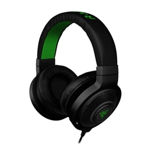 Razer Kraken - Headset - full size - wired - 3.5 mm jack - noise isolating - black