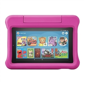 Amazon Fire 7 - Kids Edition 9th generation - tablet - Fire OS 6.3 - 16 GB - 7-inch IPS (1024 x 600) - microSD slot -...