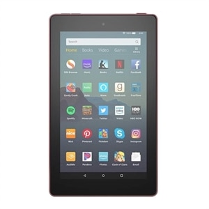 Amazon Kindle Fire 7 - 9th generation - tablet - 7-inch IPS (1024 x 600) - microSD slot - plum - with Special Offers