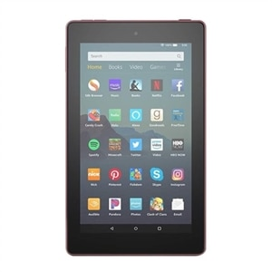 Amazon Fire 7 - 9th generation - tablet - Fire OS 6.3 - 16 GB - 7-inch - with Alexa Hands-Free - Plum