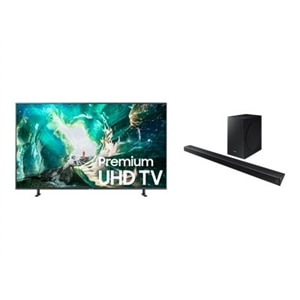 Samsung TV 75 Inch  LED 4K Ultra HD HDR Smart TV RU8000 Series UN75RU8000/HW-R650 2019