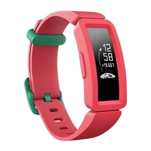 Fitbit Ace 2 - Activity tracker with band - silicone - watermelon/teal - band size 117-168 mm - monochrome - Bluetooth - 0.71 oz