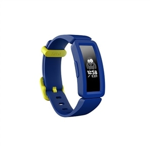 Fitbit Ace 2 - Activity tracker with band - silicone - night sky/neon yellow - band size 117-168 mm - monochrome - Bluetooth - 0.71 oz