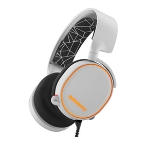 SteelSeries Arctis 5 - 2019 Edition - headset - full size - wired - USB, 3.5 mm jack - white