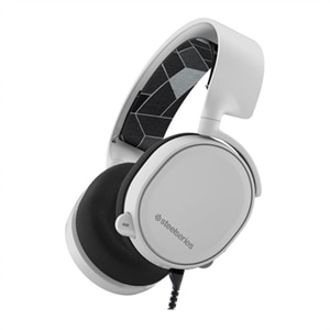 SteelSeries Arctis 3 - 2019 Edition - headset - full size - wired - 3.5 mm jack - white