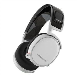 SteelSeries Arctis 7 - 2019 Edition - headset - full size - 2.4 GHz - wireless - white