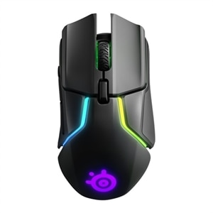 SteelSeries Rival 650 - Mouse - optical - wireless, wired - USB, 2.4 GHz