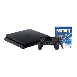 Sony PlayStation 4 - Fortnite Neo Versa PlayStation 4 Bundle - game console - HDR - 1 TB HDD - jet black