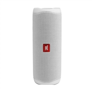 JBL Flip 5 - Speaker - for portable use - wireless - Bluetooth - white steel