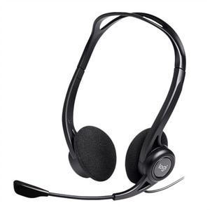 Logitech H960 Office USB Headset with Noise-Canceling Mic