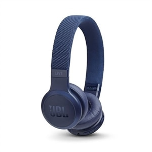 JBL LIVE 400BT - Headphones with mic - on-ear - Bluetooth - wireless - blue