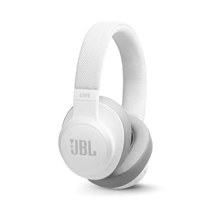 JBL LIVE 500BT - Headphones with mic - full size - Bluetooth - wireless - white