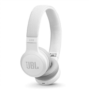 JBL LIVE 400BT - Headphones with mic - on-ear - Bluetooth - wireless - white