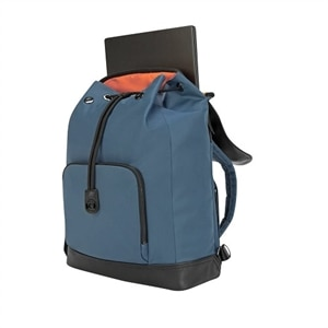 Targus Newport Drawstring - Laptop carrying backpack - 15-inch - slate blue