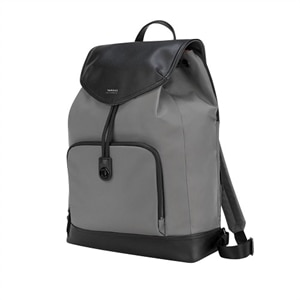 Targus Newport Drawstring - Laptop carrying backpack - 15-inch - gray